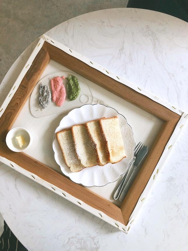 Palette Toast ($8.90)