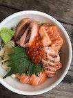 Salmon Kaisen Don ($10++)