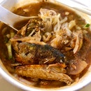 Finally found the taste of Penang Asam Laksa I am craving for badly, in Singapore!