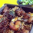 Seiro seafood teriyaki rice,  not bad!