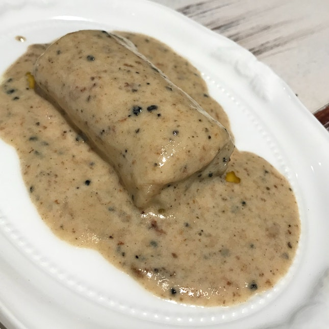 Cannelloni with Truffle Sauce