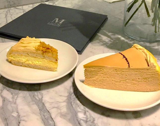 Chestnut Cake & Earl Grey Mille Crepe