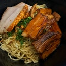 Duo Wanton Mee - with roast pork & char siew