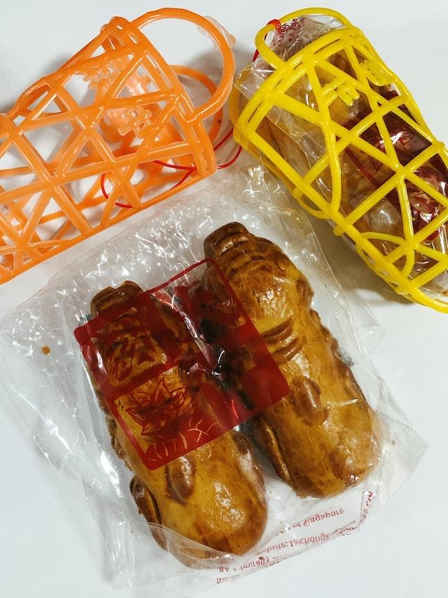 Piggies in a basket