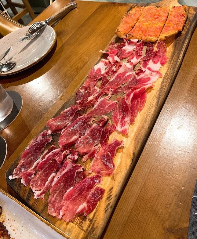 Iberico Ham platter