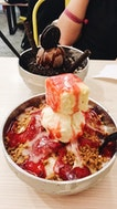 strawberry cheesecake bingsoo $9