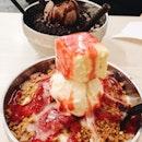 strawberry cheesecake bingsoo $9