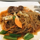 [daebak korean @ food republic - glass noodles.