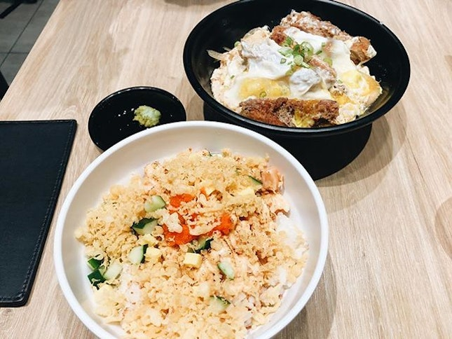 📍@koganeyamasg⠀⠀⠀⠀⠀⠀⠀⠀⠀ 🚇Bugis Junction⠀⠀⠀⠀⠀⠀⠀⠀⠀ ✏️ Tried the rice bowls for the first time instead of getting my usual tendon.