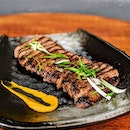 [Outram/INVITED TASTING] This tender Gyuniku Teriyaki – Grilled Steak ($16) was cooked to perfection, resulting in an almost melt-in-your-mouth consistency.