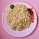 [Beach Rd] The best Fried Hokkien Mee ($4).