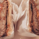 Pork cofit sandwich #nomnomnom #burpple