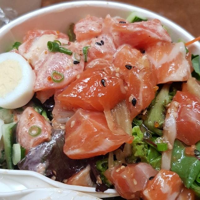 Fresh Sashimi With Veg