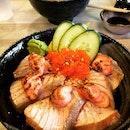 LOVE their Mentai Salmon