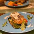 Pan Seared Norwegian Salmon ($22)
