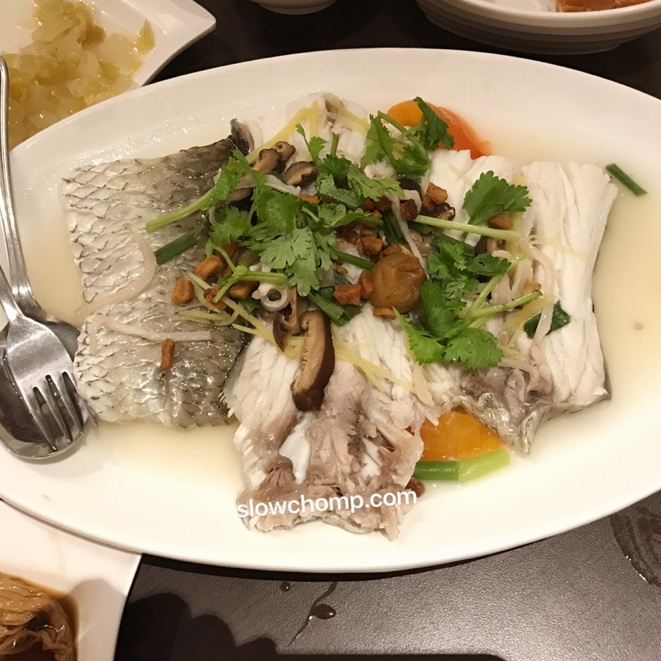 Steamed Threadfin Fish Tail, $48+