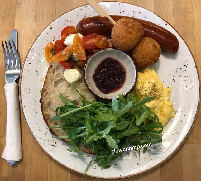 Breakfast Plate, $18.50