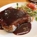 Pork loin In Red Wine Sauce, 345baht