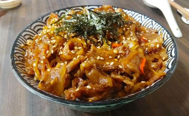 Spicy Yakiniku Don