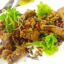 Deep-Fried Duck With Chilli, Garlic, Pepper & Salt