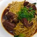 Pork Ribs Stir-Fried You Mian