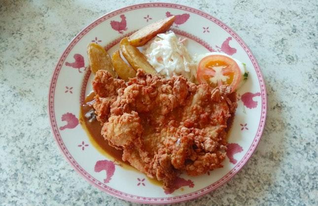 Chicken Cutlet With Mushroom Sauce