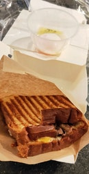 Wagyu Beef With Onsen Tamago Sandwich