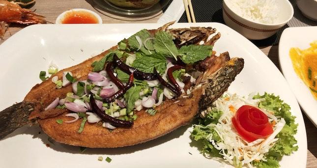 Northeastern-Style Deep-Fried Fish