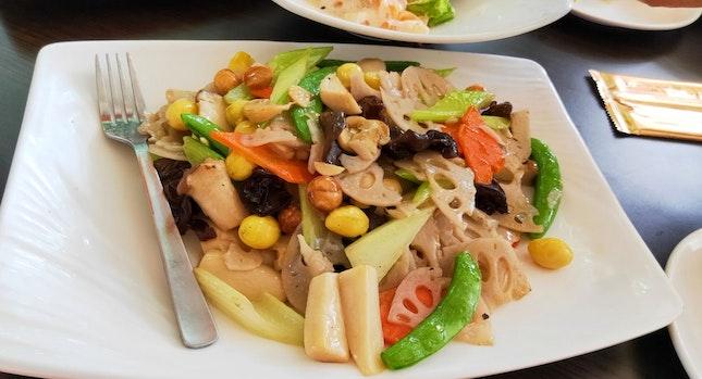 Macadamia Nuts With Seasonal Vegetables