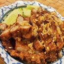Deep-Fried Garlic Pork