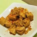 Pork Floss Deep-Fried Tofu