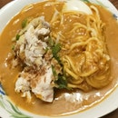 Mee Rebus With Chicken Breast