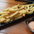 Fries With Cod Roe Mayo