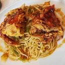Spaghetti Con Verdure, Granchi Di Muta