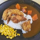 Chicken Wing Curry Rice