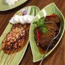 Sate Ayam Madura & Rendang Sapi
