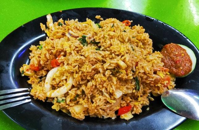 Tom Yum Seafood Nasi Goreng