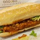 Chilli Crab Long Chicken Burger