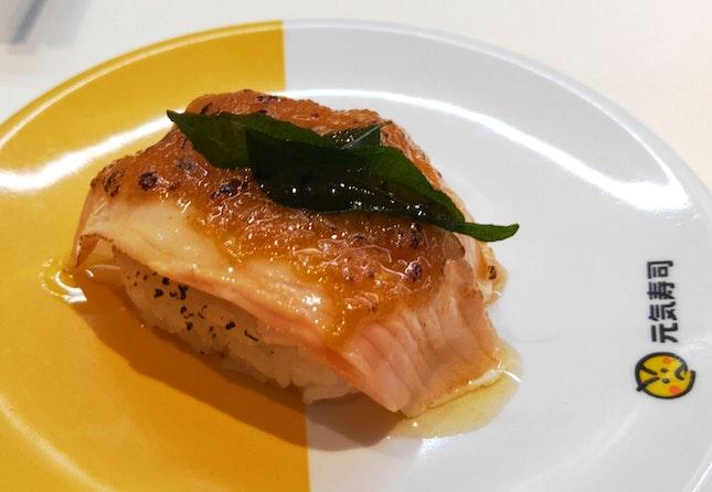 Salmon Salted Egg Sushi