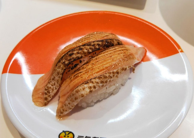 Grilled Salmon Sushi