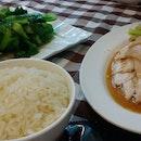 Chicken Rice and Kayllang