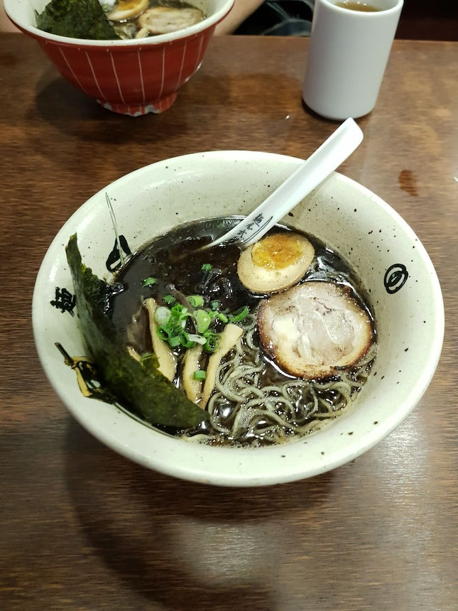 Black Garlic Char Siu Ramen