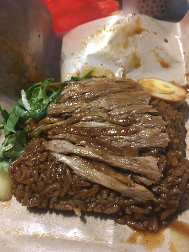 Duck Rice With Egg $3.60