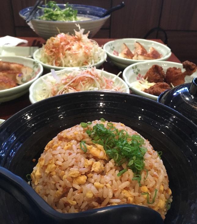Garlic Fried Rice Set