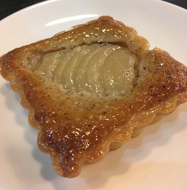 Pear And Hazelnut Tart