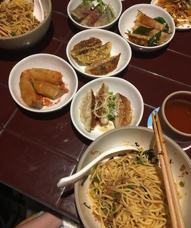 Braised Pork Noodles And Tea
