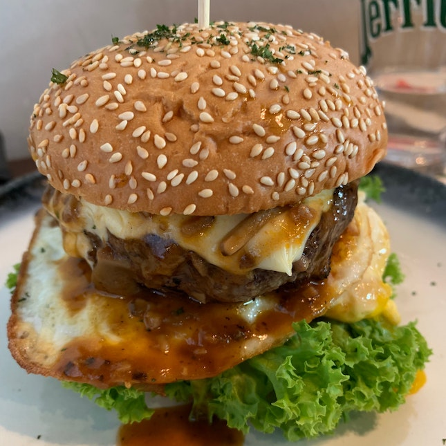 Char-Grilled Wagyu Beef Burger