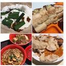 Putu Piring, Roti John, Sarawak Laksa/Kolo Mee & Gado Gado