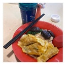 水饺粿条加香菇