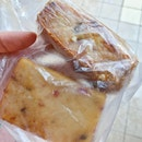 Carrot Cake ($1.20) and Fried Doufu ($1.50)